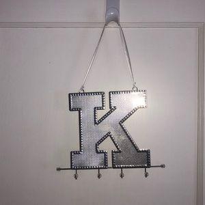 K Jewelry Organizer